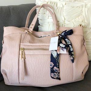 NWT Jessica Simpson Doris Bag in Powder Blush